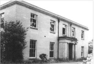 Newbold Comyn prior to demolition 1965 © Windows on Warwickshire