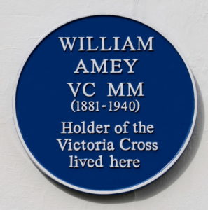 William Amey VC, MM © A Jennings