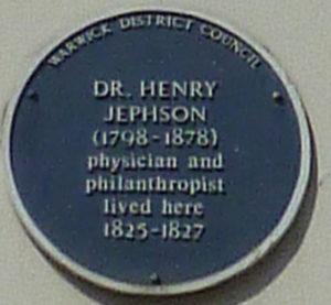 Dr Henry Jephson