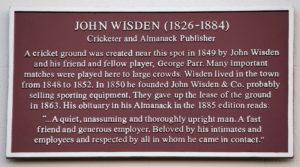 John Wisden