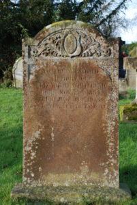 Elizabeth Whitehead's Grave © Allan Jennings