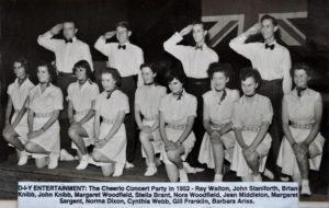 Cheerio Concert Party 1952 ©John Knibb