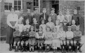 Lillington School photo, c 1920 © G Moss