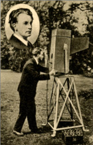 Mr Baird with Camera