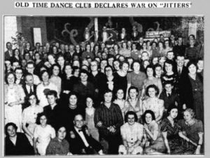 Dancers at the Blue Cafe 1939 © Leamington Courier