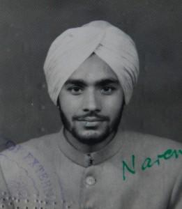 Mota as a young man © Mota Singh