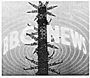 TV transmitter mast