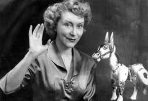 Muffin the Mule with Annette Mills