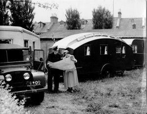 Mrs Fowler, Morgan & Land Rover