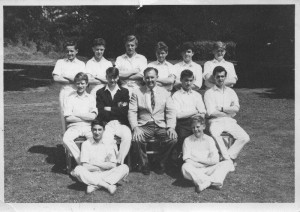 Feldon 1st Cricket XI 1964 © Andrew Sutherland (back row, 2nd from right) Alfred Leon aka Leon Vitali, 1st left middle row