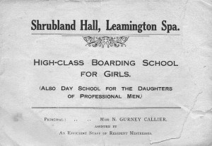 Shrubland Hall School prospectus © Alan Griffin