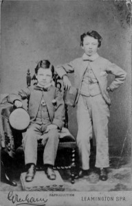 The Parry brothers, 1890s © Alan Griffin